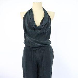 338320897e Zara Pants - NWT Zara Black Halter Jumpsuit - J0100